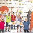 Podio femenino 2ª prueba Copa de España de Escalada 2018