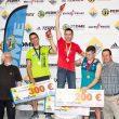 Podio masculino, categoría Absoluta de la 1ª prueba Copa de España Dificultad 2018