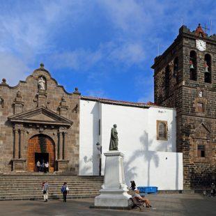 Santa Cruz de La Palma Iglesia El Salvador.
