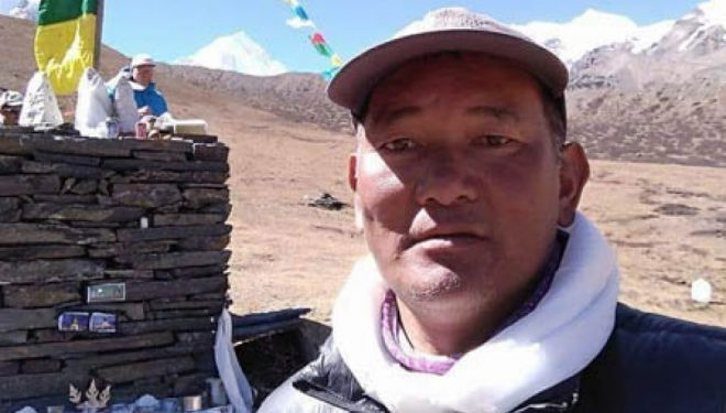 Pemba Sherpa, desaparecido en el Saser Kangri. 2018