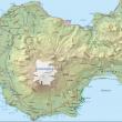 Glaciar del volcán Snefells en Islandia