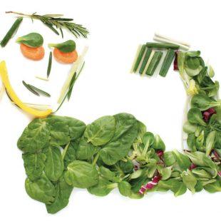 Una dieta vegetariana bien planificada es una opción muy saludable.