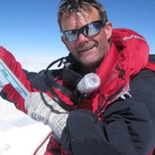 El alpinista británico Ted Atkins.