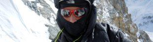 Álex Txikon en el punto más alto alcanzado el año pasado en el Gasherbrum 1 invernal