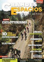 Portada de la revista Grandes Espacios nº 246. Especial Cicloturismo.