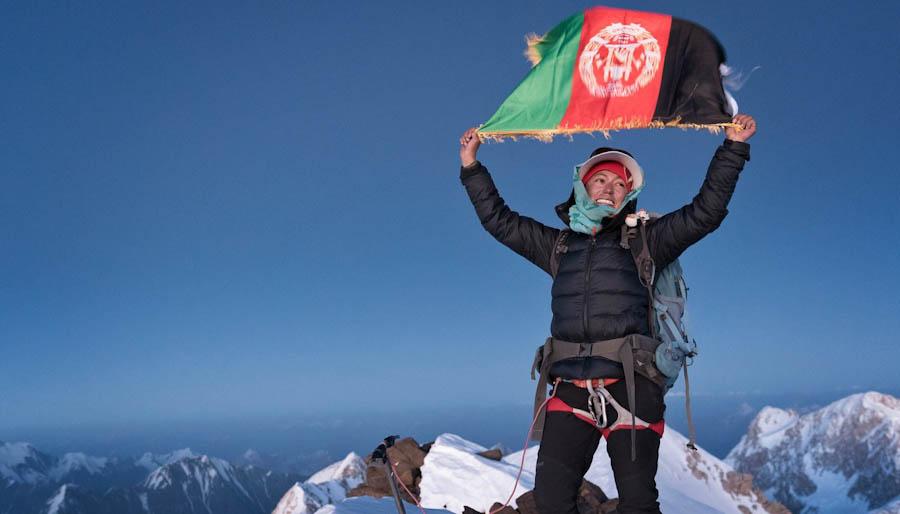 Hanifa Yousoufi Primera Mujer Afgana En Conquistar La Cima De Su