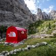 Tienda pop-up de The North Face en Dolomitas