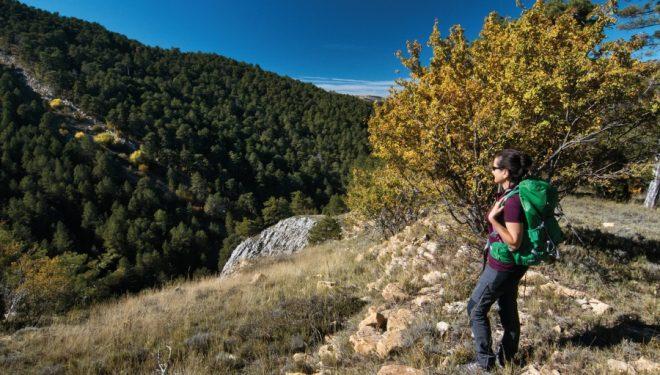 Barranc de la Pegunta, en el macizo de Penyagolosa, la montaña tótem de Castellón