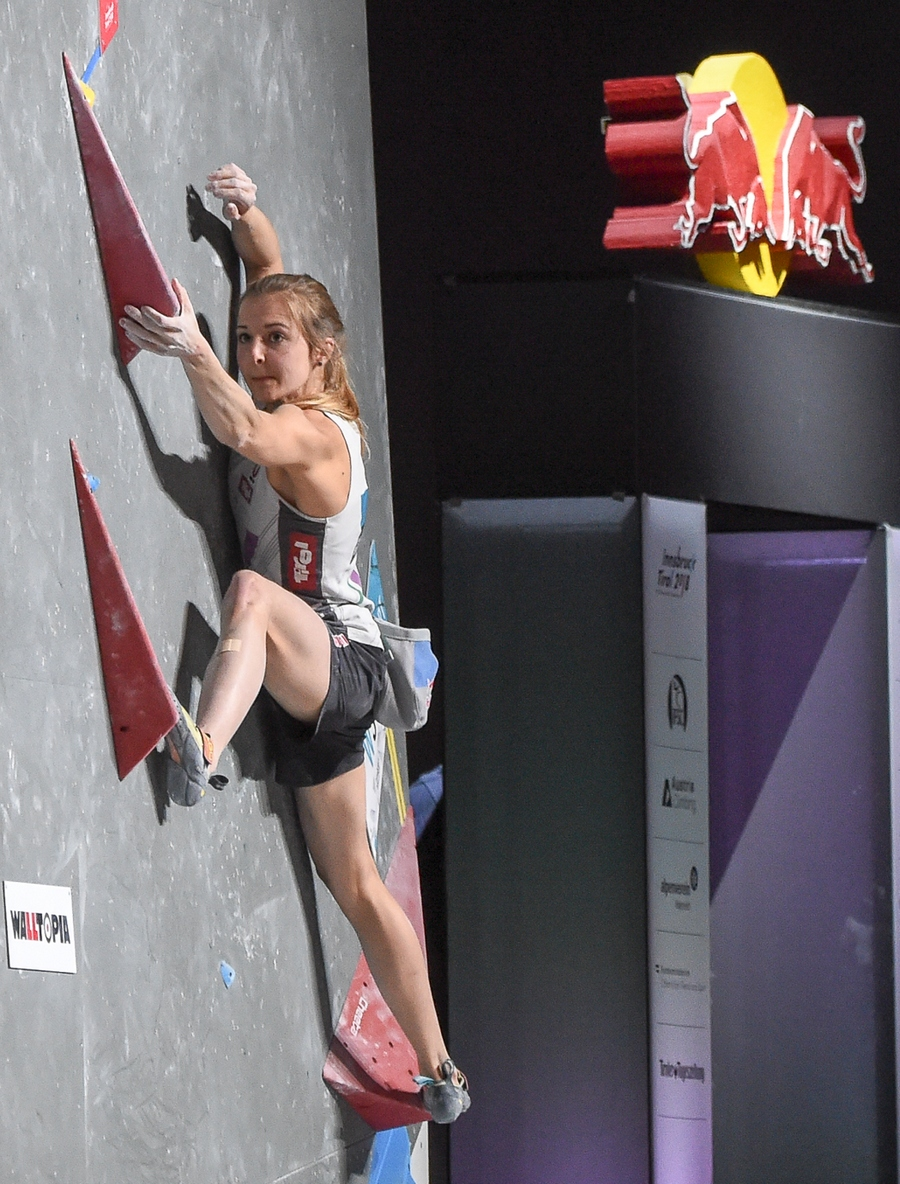 Jessica Pilz Campeonato del Mundo 2018, en Innsbruck
