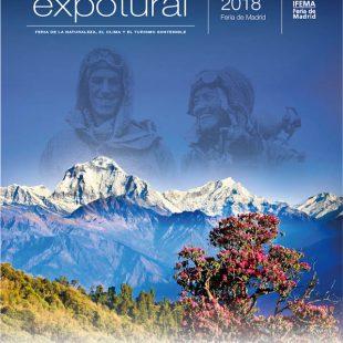 Cartel de Expotural, la feria de la naturaleza y del turismo que se celebra en Madrid el 3 y 4 de noviembre de 2018.