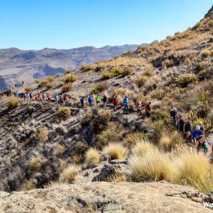 Senderistas en el Gran Canaria Walking Festival