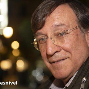 El naturalista y escritor Joaquín Araujo en la Librería Desnivel (octubre 2018)