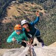 Lynn Hill y Nina Caprez en The nose (El Capitan)