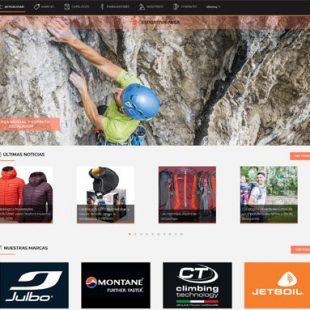 Nueva página web de Esportiva AKSA