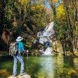 Una de las cascadas emblemáticas de la Garganta Nogaleas