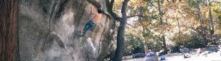 Adam Ondra en Midnight Lightning, Camp 4, Yosemite