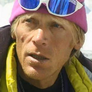 El alpinista kazajo Anatoli Bukréyev (1958-1997)
