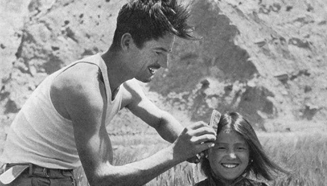 Maurice Herzog durante la expedición Annapurna (1950)