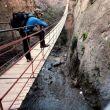 El impresionante puente colgante de 63 metros