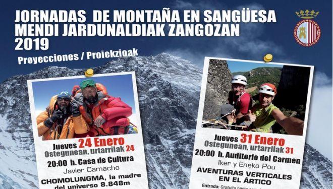 Jornadas de montaña en Sangüesa-Zangoza.