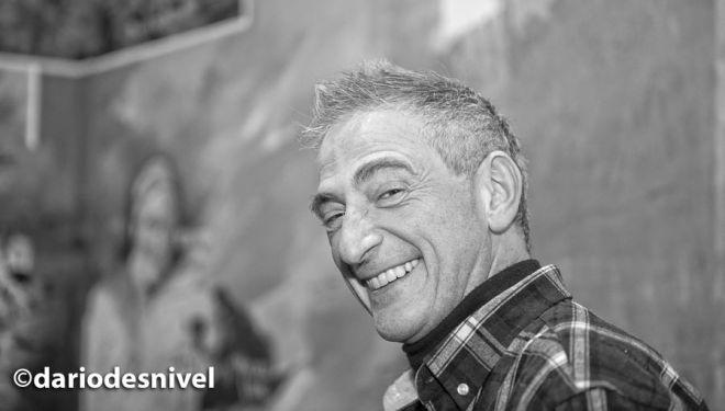 """Juan Carlos Guichot """"`Papila"""" en la Librería Desnivel (diciembre 2018)"""