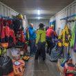 Grupo de rescate en el Fitz Roy por Fabricio Amaral y Leandro Ianotta