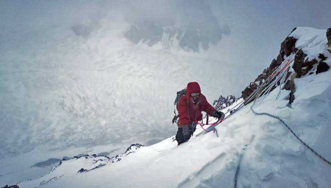 La expedición ruso-kazajo-kirguís en el K2 invernal