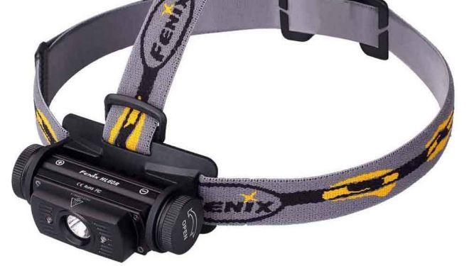Linterna HL60R de Fenix.