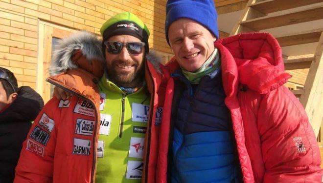 Álex Txikon y Artem Braun en Skardu