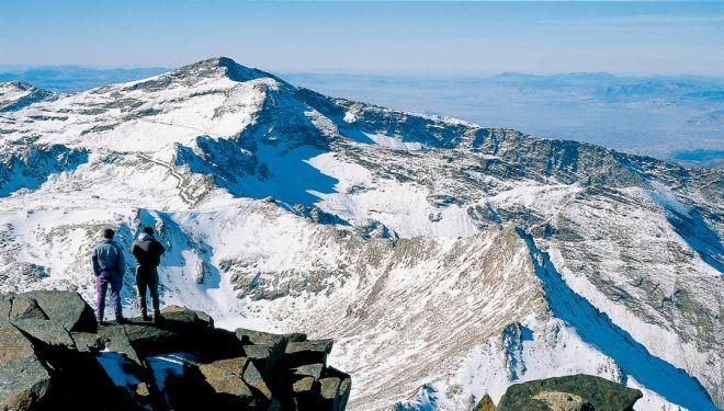 Vista desde el Mulhacén.