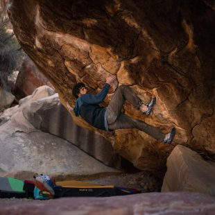 Jimmy Webb en 'Sleepwalker' 8C+ de Red Rocks