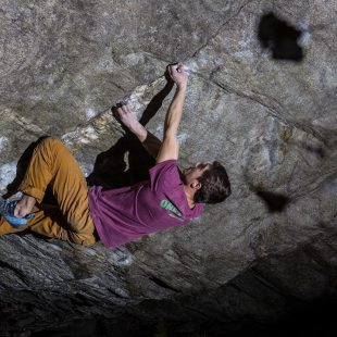 Christof Rauch en 'From dirt grow the flowers' 8C de Chironico