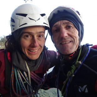 Sonia Casas y Mikel Zabalza