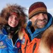 Pascale Marceau y Lonnie Dupre en el Mt. Wood (Canadá)
