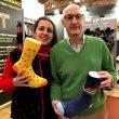 María y Pedro Echavarría, de Mund socks, en Ispo 2019