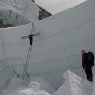 Los Doctores de la Cascada equipando la ruta normal de la cara sur del Everest 2019