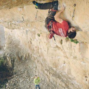 Ignacio Mulero en 'Panorama' 8c+/9a de Patones