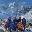 Nirmal Purja y sus compañeros de ascensión al Annapurna