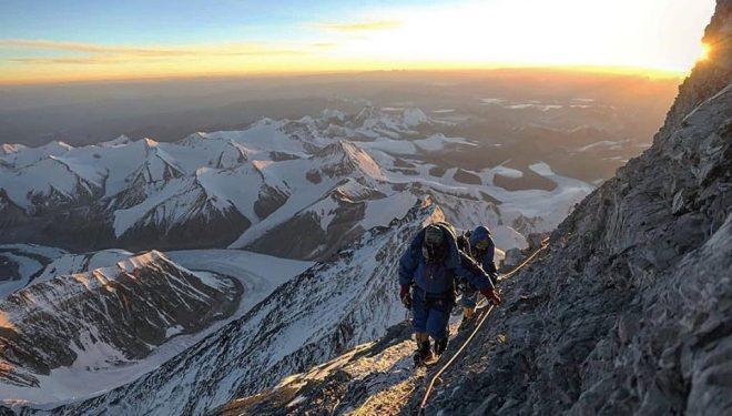 Ascensión por la cara norte del Everest