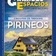 Portada de la revista Grandes Espacios 253. Circuitos de trekking Pirineos
