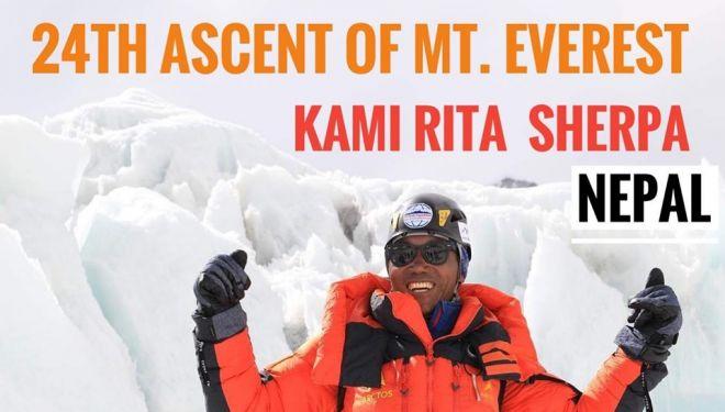 Kami Rita Sherpa y su récord de 24 cimas al Everest.