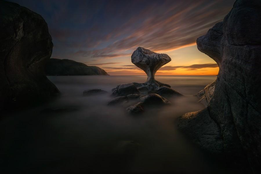 """Kannestein Rock"" por Wojciech Krucynski. Ganador categoría: Paisajes naturales."