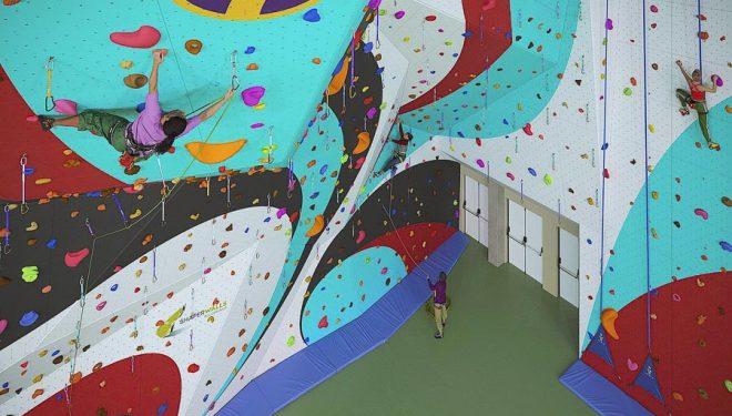 Así será el rocódromo que Climbing Planet construirá en Lugo, el más grande de España.