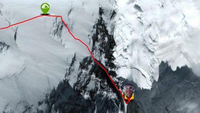 Mingote en el Lhotse
