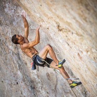 Beto Rocasolano en 'Seta total' 9a de Cuenca