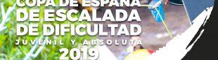 Cartel Copa España de Escalada de Dificultad 2019