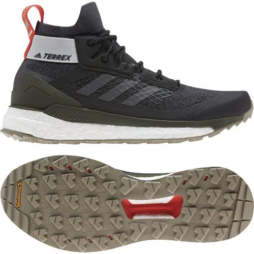 Adidas zapatillas Terrex-Boost-Hiker. Premio Desnivel de Material 2019