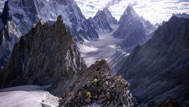 Glaciar Choktoi (Karakórum)