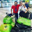Mattia Conte y Sergi Mingote, a punto de partir hacia Pakistán
