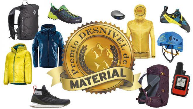 Fallado el XI Premio Desnivel de Material 2019: 11 ganadores de oro y 56 de plata